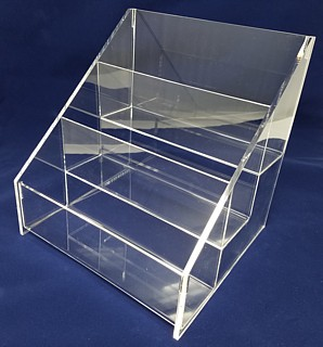 ACD21 3-tier acrylic display rack shelf
