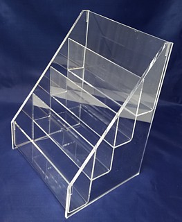 ACD22 4-tier acrylic display rack shelf