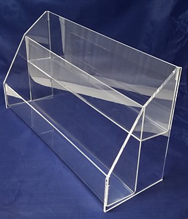 ACD28 2-tier acrylic display rack shelf