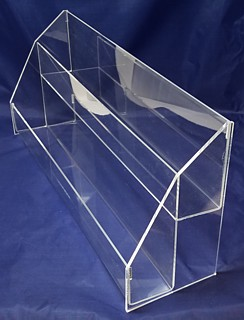 ACD29 2-tier acrylic display rack shelf