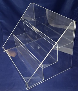 ACD30 3-tier acrylic display rack shelf