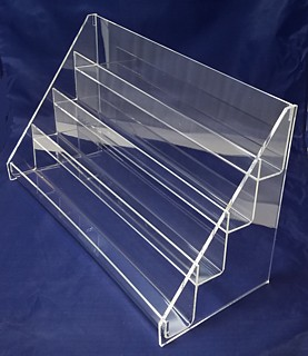 ACD35 4-tier acrylic display rack shelf