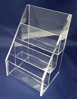 ACD41 3-tier acrylic display rack shelf