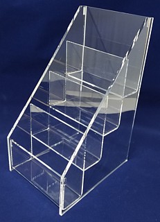 ACD44 4-tier acrylic display rack shelf