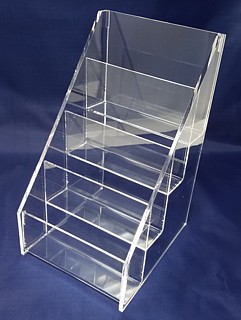 ACD45 4-tier acrylic display rack shelf