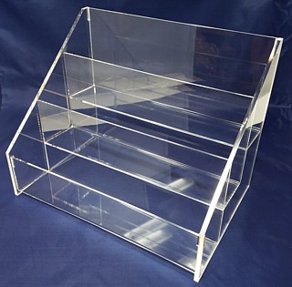 ACD7 3-tier acrylic display rack shelf