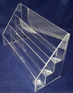 ACD8 3-tier acrylic display rack shelf