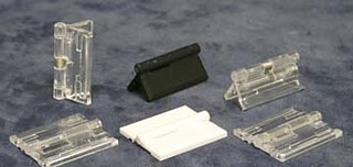 AD-Hinge Clear Acrylic Hinges