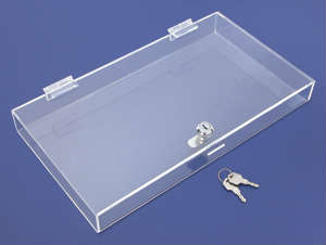 ASC5 Plexiglas Acrylic Security Locking Showcase