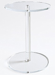 Clear Acrylic Barbell Dumbell Riser Pedestals
