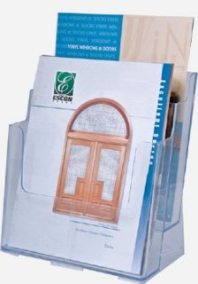 2 Pocket Brochure Literature Holder Model CH2x8.5