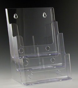 3 Pocket Brochure Literature Holder Model CH3x8.5