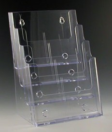 4 Pocket Brochure Literature Holder Model CH4x8.5