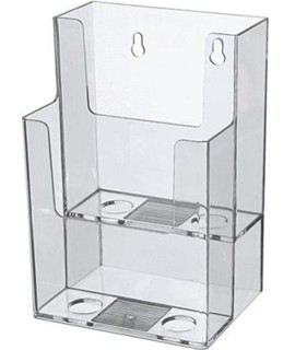 2 Pocket Brochure Literature Holder Model CH802