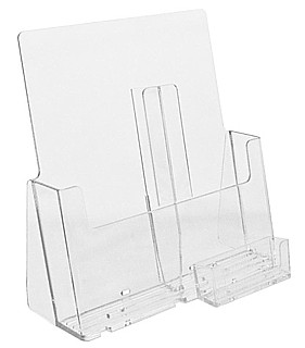 CH8.5 Single Pocket Countertop Brochure Holder