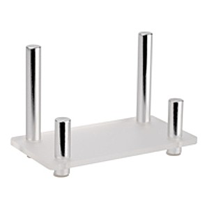 CHBC-CHR Euro-Style Business Card Holders with Chrome Posts