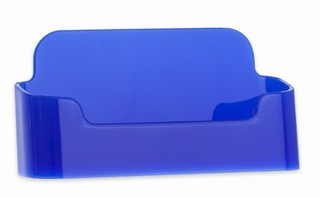 CHBC-EBL BLUE Economy Countertop Business Card Holders