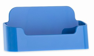 CHBC-ELB Light BLUE Economy Countertop Business Card Holders