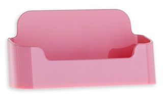 CHBC-EP Pink Economy Countertop Business Card Holders