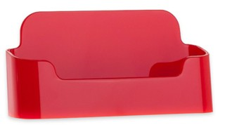 CHBC-ER RED Economy Countertop Business Card Holders