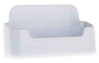 CHBC-EW White Economy Countertop Business Card Holders