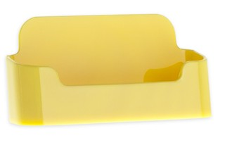 CHBC-EY Yellow Economy Countertop Business Card Holders