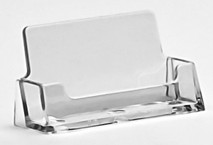 Single and Multiple Pocket Countertop and Wallmount Acrylic and Plastic Business Card Holders, Plexi, plexiglass, plexiglas, lucite