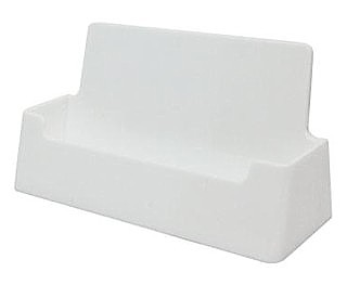 CHBC-W White Countertop Business Card Holders