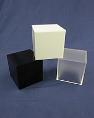 Acrylic Cubes and Boxes, Plexiglas, Plexiglass, lucite  and plastic