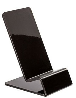 CPE7-B Black Acrylic Cellphone Easel Cell Phone Easel Stand
