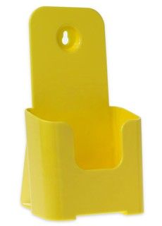 Yellow Trifold Literature Holder