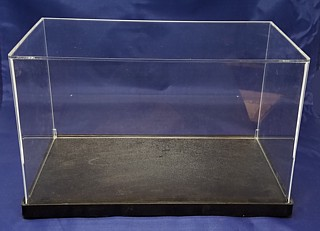 Clear Acrylic Display Case Boxes for memorabilia, dolls or collectibles