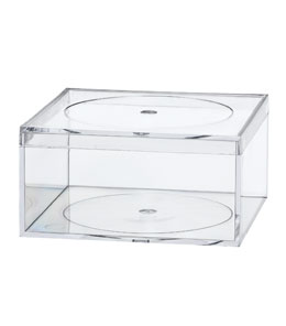 Clear Styrene Plastic Containers For Display