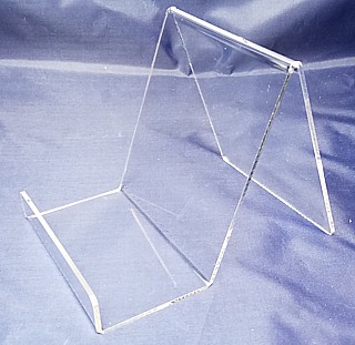 Acrylic J Easels and J-stands Displays or Box Easel
