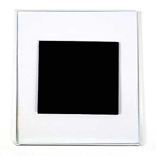 Foldover Magnetic Sign Holder Display Frames in Acrylic, Plexiglas, Plexiglass, Lucite, Plastic