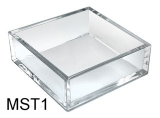 Clear Stackable Styrene Trays