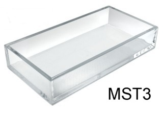 Clear Molded Styrene Tray