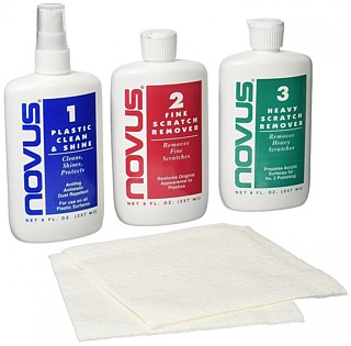 Novus Cleaning, Polishing and Scratch Remover 8 ounce kit