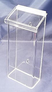 OBH10 Clear Acrylic Outdoor Plastic Brochure and Literature Holder