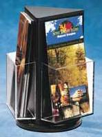 Acrylic Rotating Brochure and Literature Holders and displays, Plexiglas, Plexiglass, plexi, Plastic, lucite