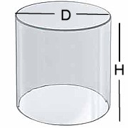 Clear Acrylic Circular Cylinderical Ring Riser in Plexi or Lucite