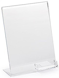 Display Frames with Pockets and Business Card Holders in Acrylic, Plexiglas, Plexiglass, Lucite, Plastic