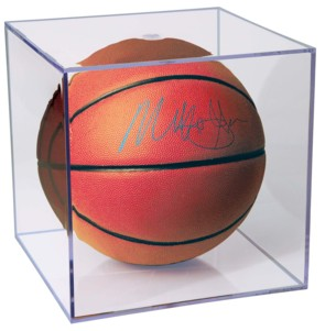 Clear Acrylic Basketball Display Case For Displaying Sports Memorabilia or Autographed Basketballs
