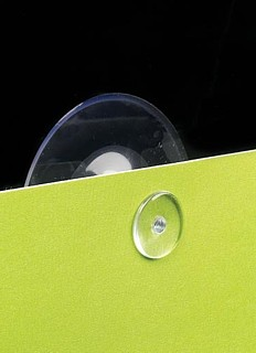 Clear Vinyl Suction Cups With Tack
