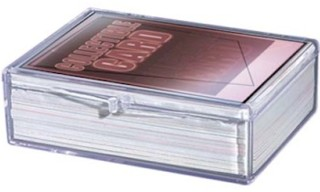 Sports and Trading Card Cases, Plexiglas, Plexiglass, Lucite, Acrylic, Plexi and Plastic