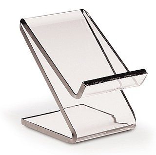 Clear Acrylic Z Stand Easel Riser Display Stand
