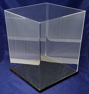 Acrylic Doll and Collectible Display Cases, Plexiglas, Plexiglass, lucite and plastic