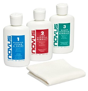 Novus Plastic Polish Cleaner and Scratch Remover for Plastic, Acrylic Plexiglas, Lucite